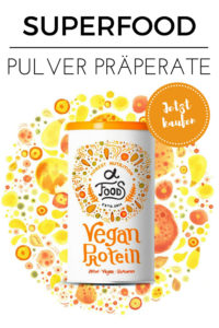 Superfood Pulver Präperate
