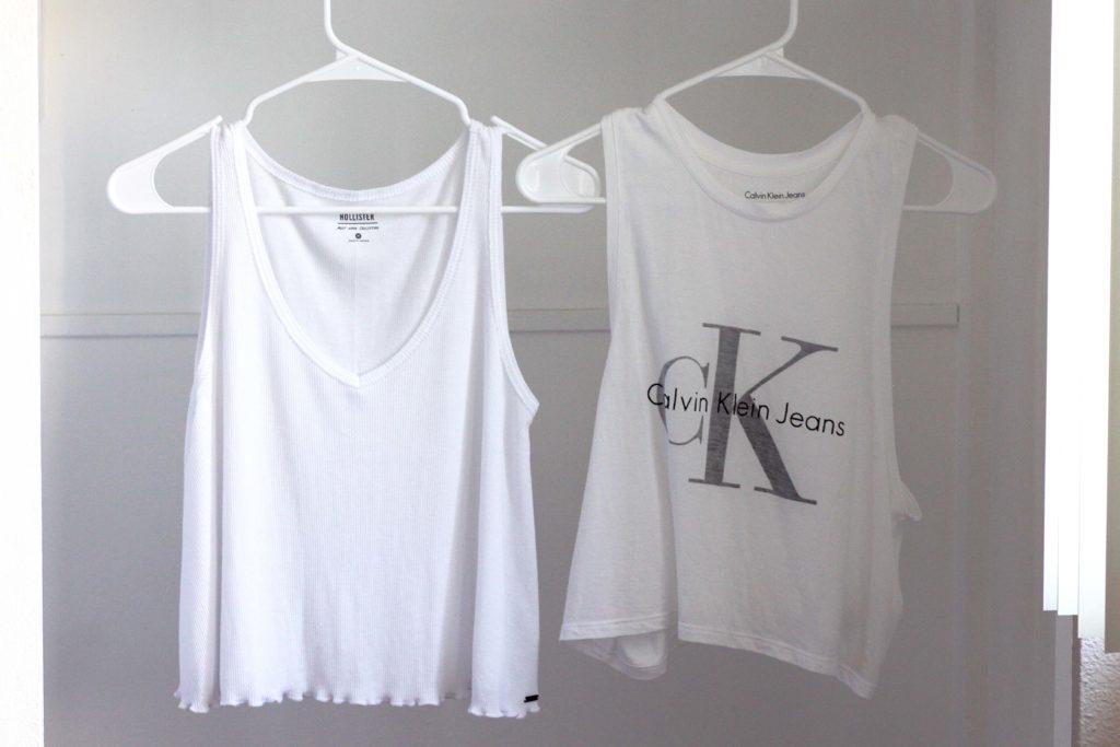 Fashion Trend für den Sommer: weiße Crop Tops