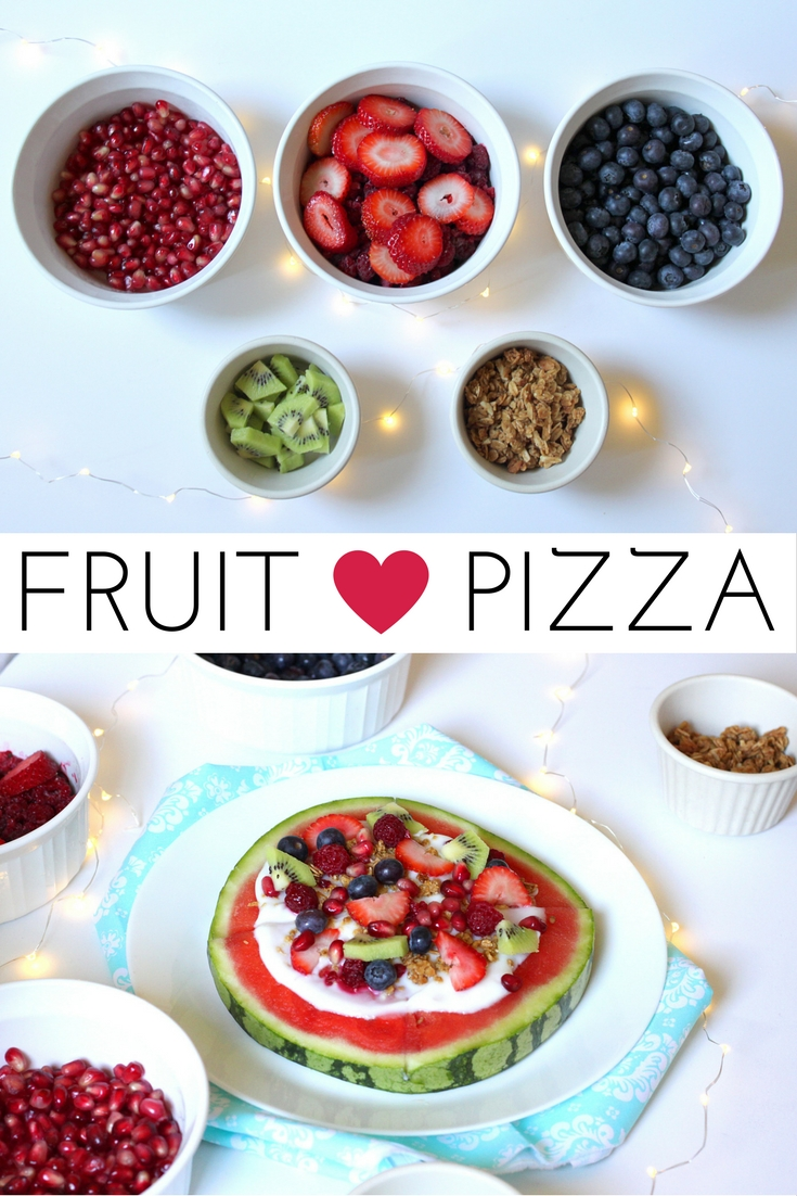 Fruit Pizza, Früchte Pizza, Healthy Snacks, Summer, Früchte