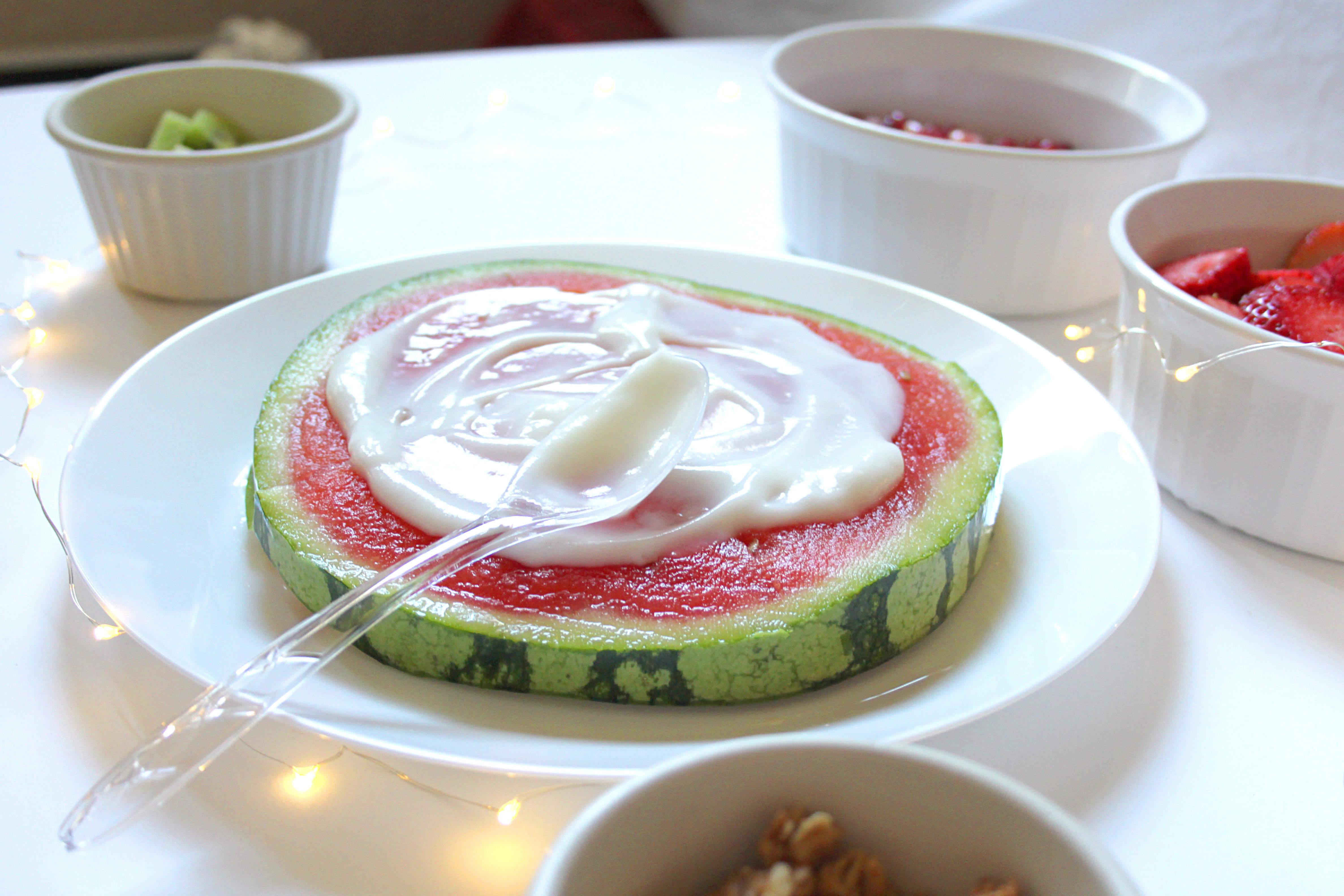 Fruit Pizza mit Joghurt