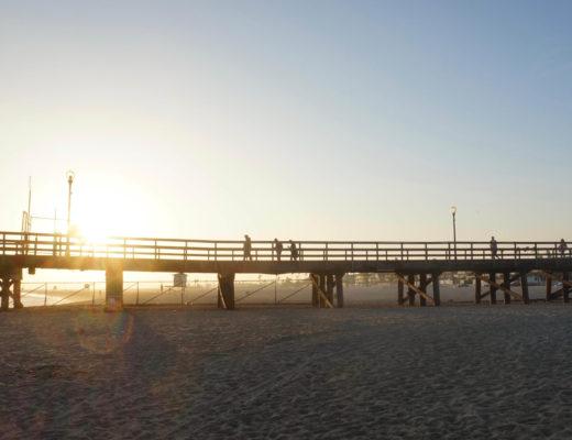 Strände in Südkalifornien - Seal Beach